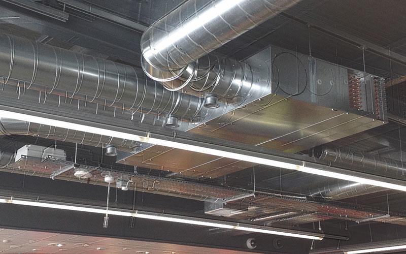 Image of a HVAC system