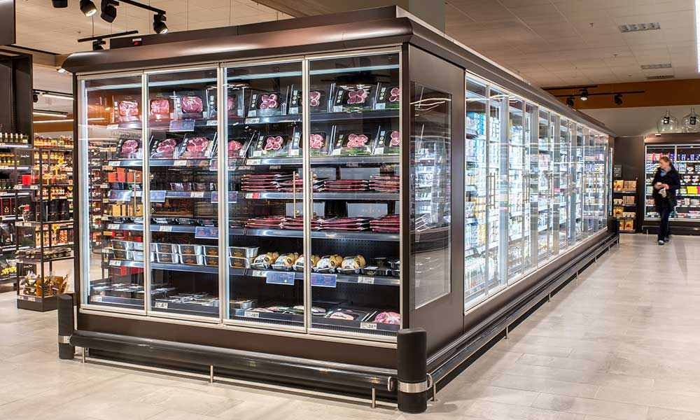 Refrigerated Display Cabinet Island