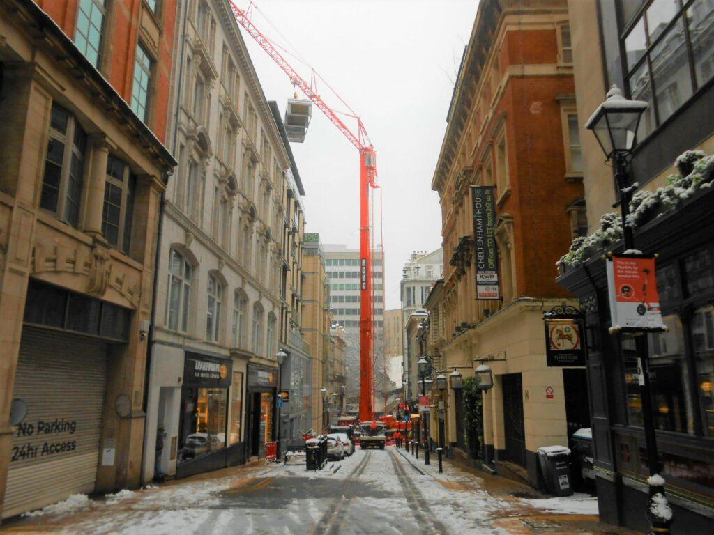 Refrigeration Plant Crane Lift