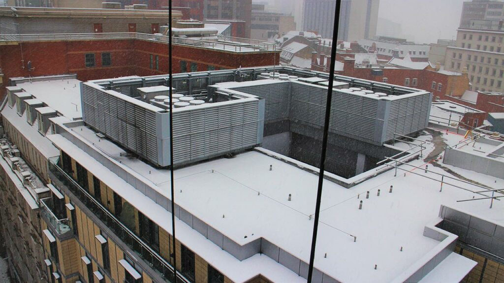 Roof Plant Installation